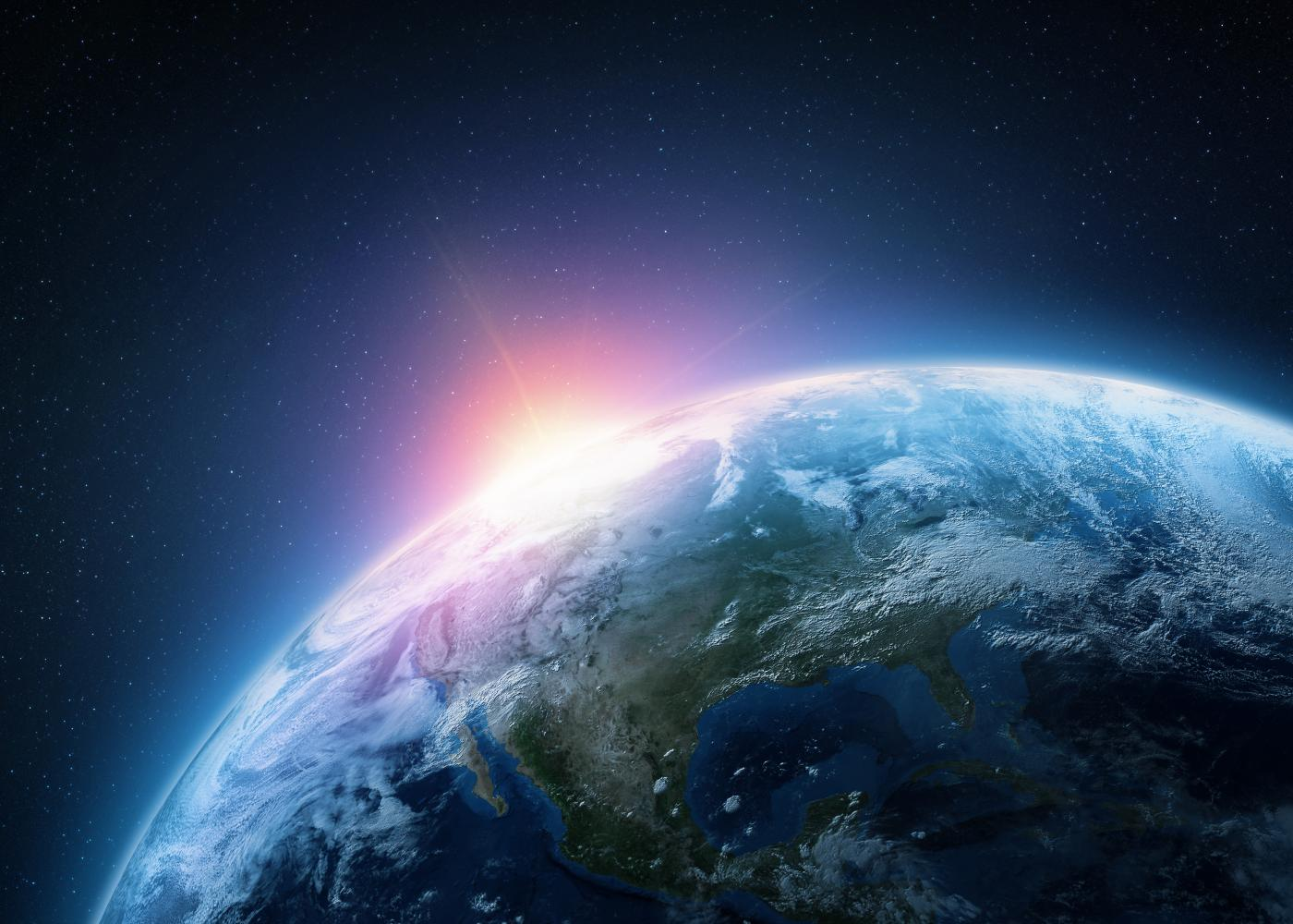 Stock photo of planet Earth